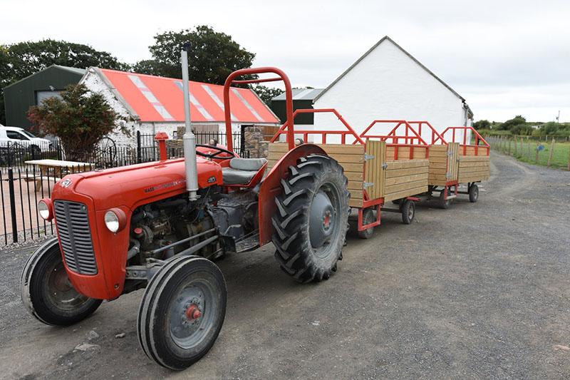Sand Feet Farm Tractor