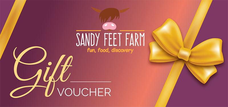 Gift voucher Sandy feet Farm