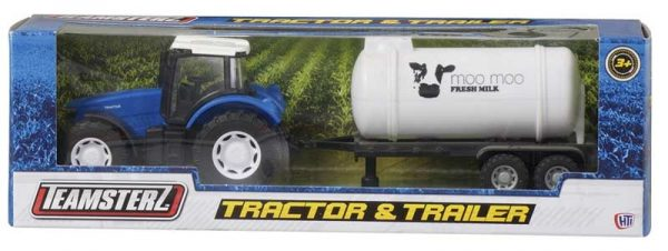 Tractors are a reliable and indispensable tool for farmers and will add to the play experience of any young farmer.